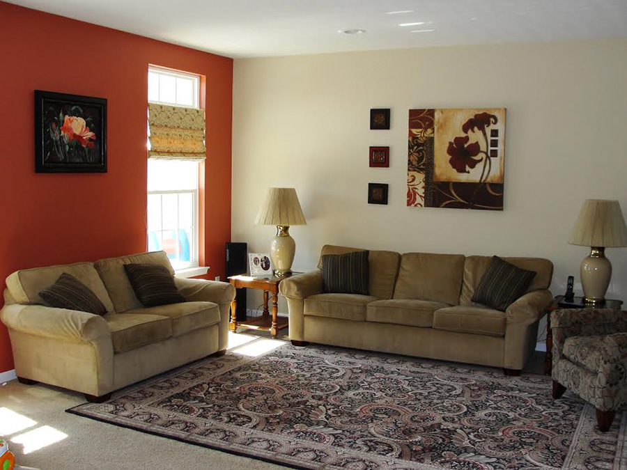 2 Tone Living Room