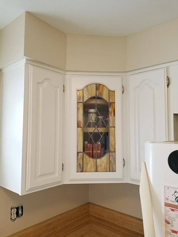 decorative corner cabinet-600w